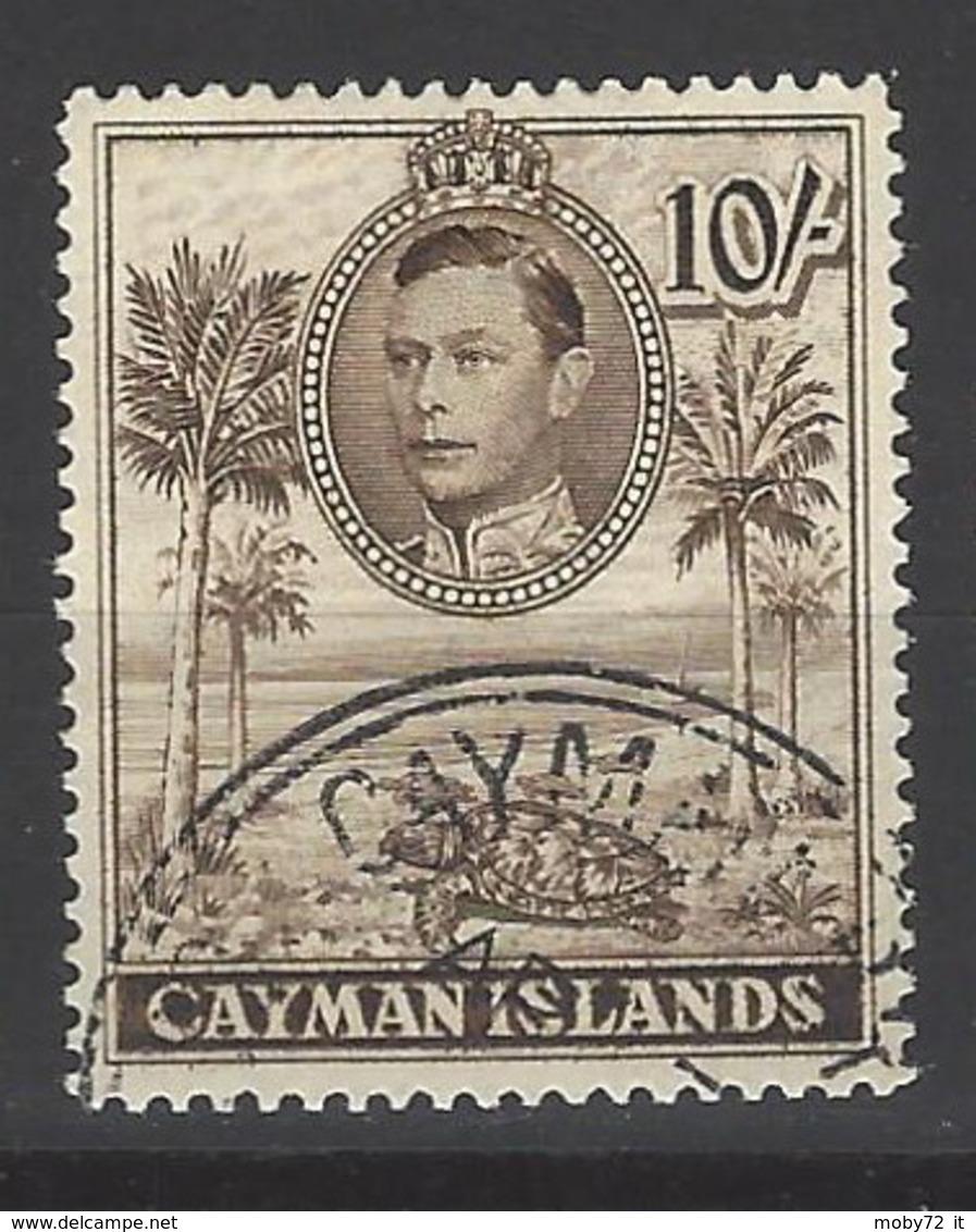 Cayman Islands - 1938 - Usato/used - King George V - Mi N. 114C - Kaaiman Eilanden