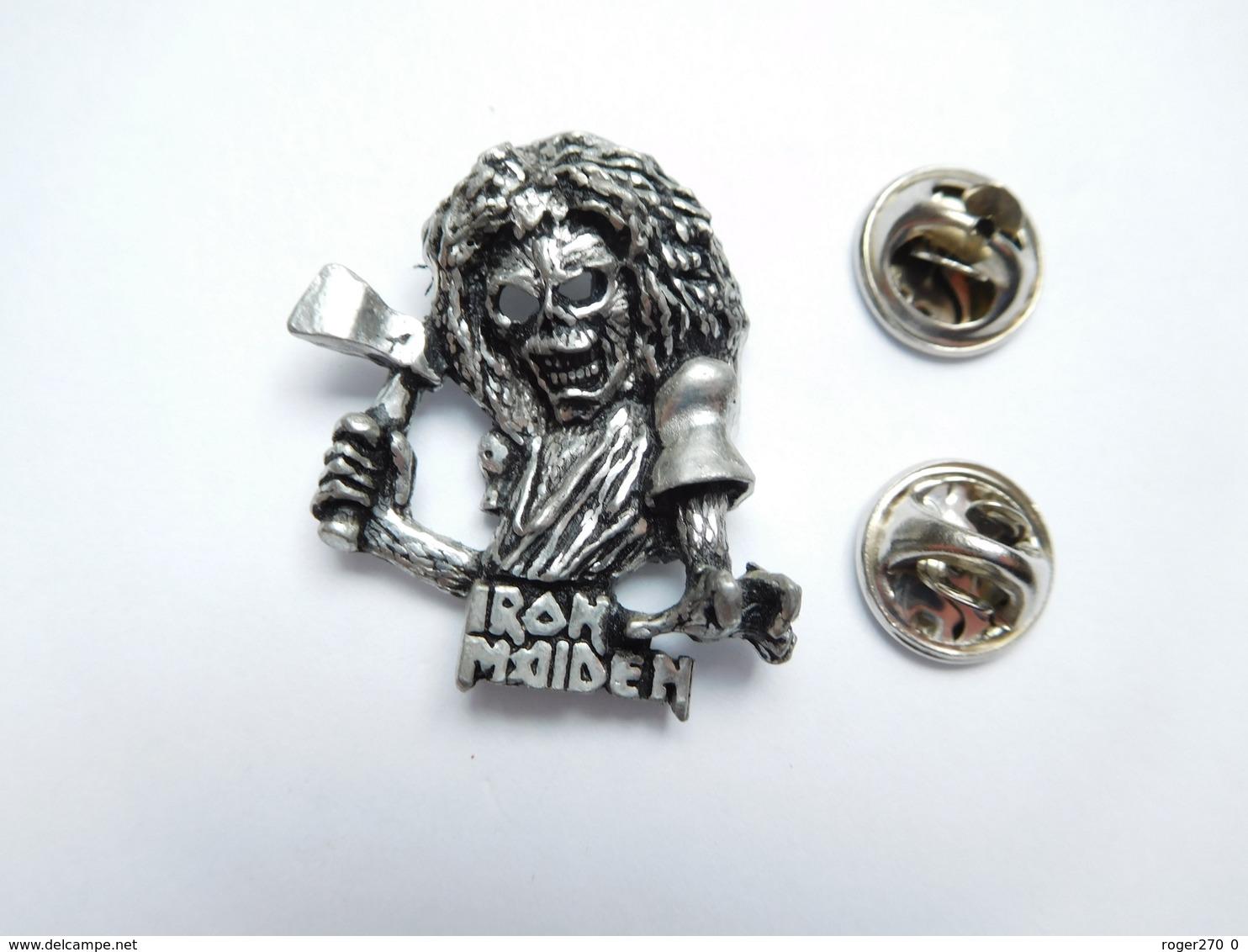 Beau Pin's En Relief , Musique , Iron Maiden ,  Groupe De Heavy Metal Britannique , Tête De Mort - Muziek