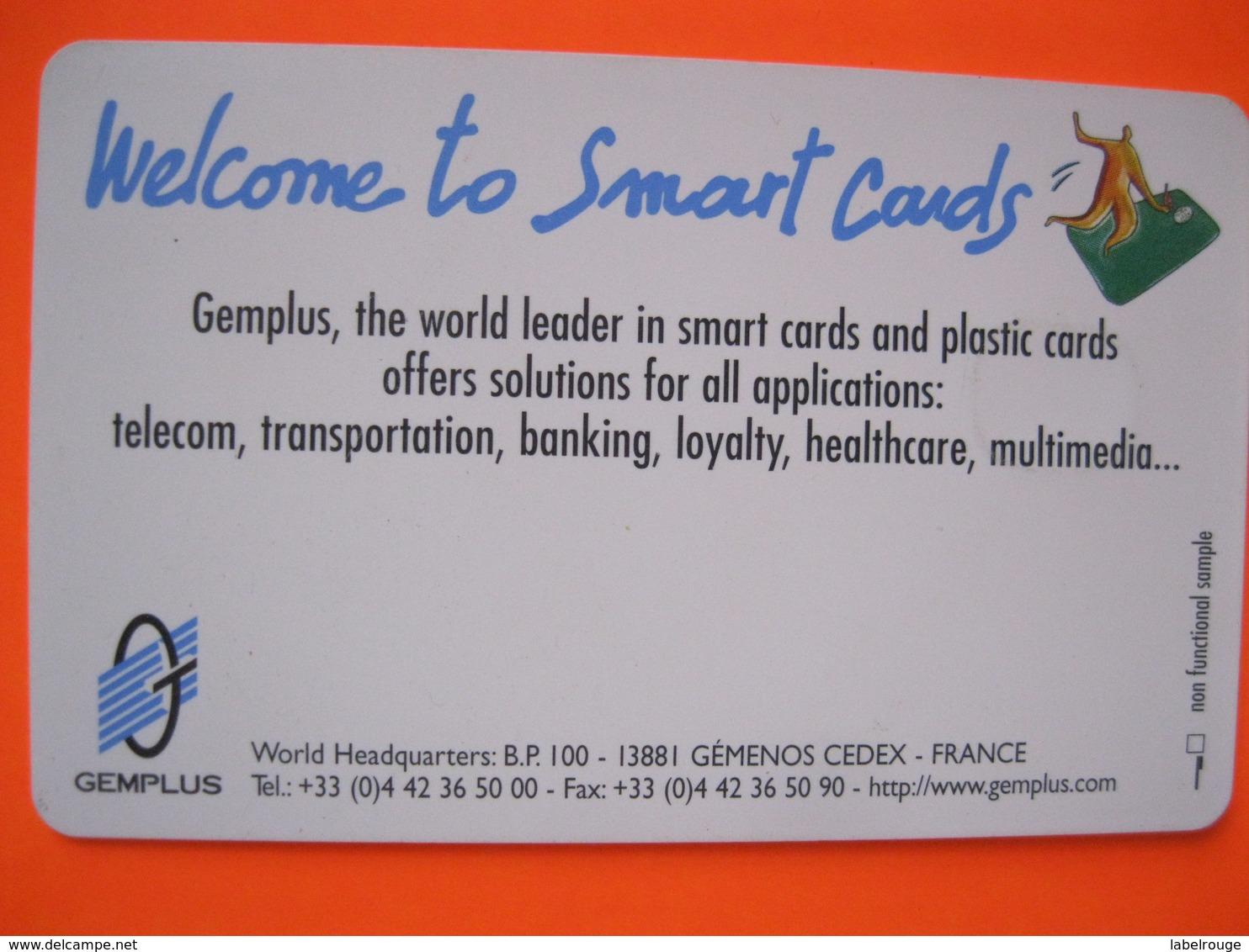 Telecarte Gemplus - Phonecards