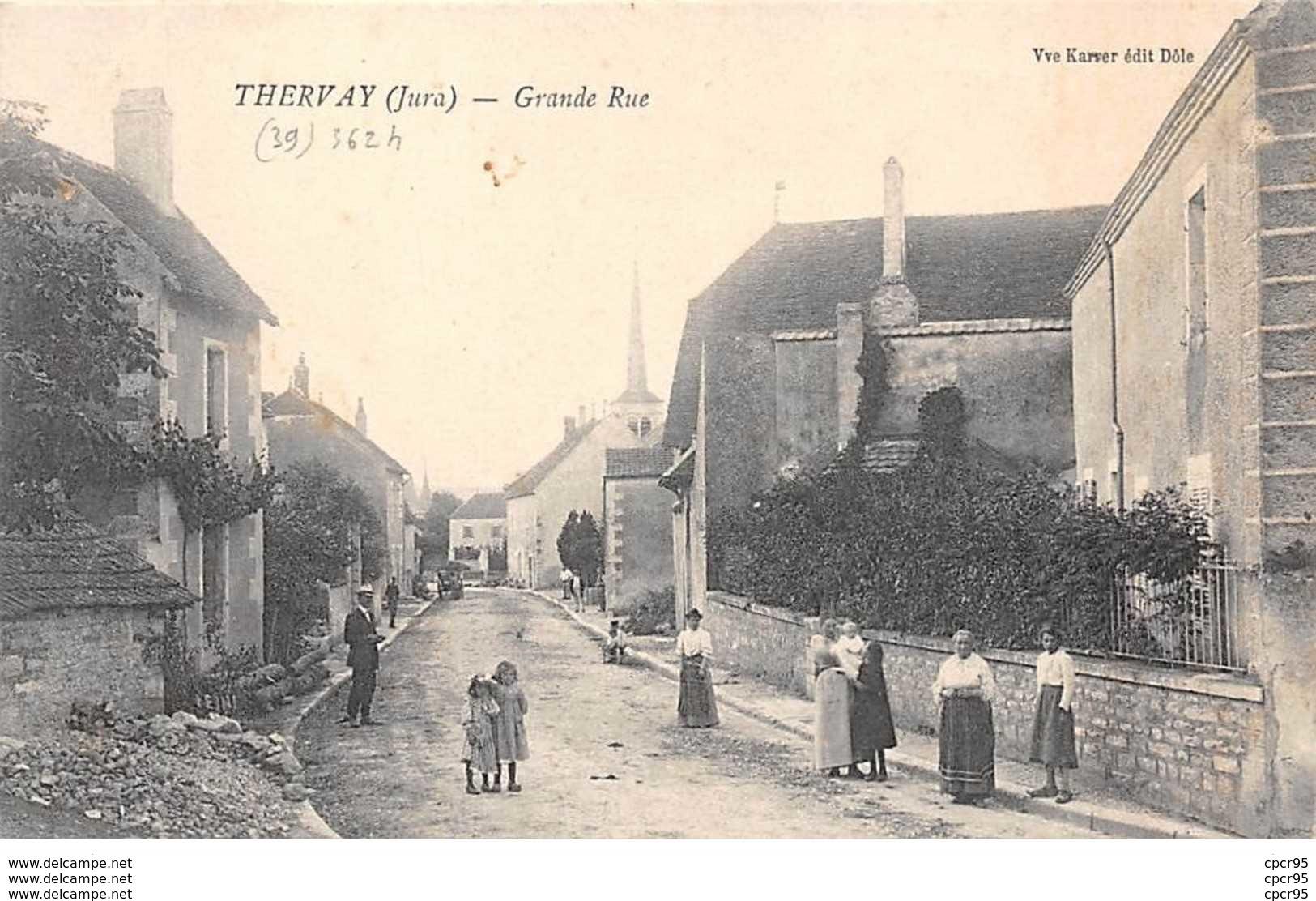 39 - N°150536 - Thervay - Grande Rue - Sonstige Gemeinden