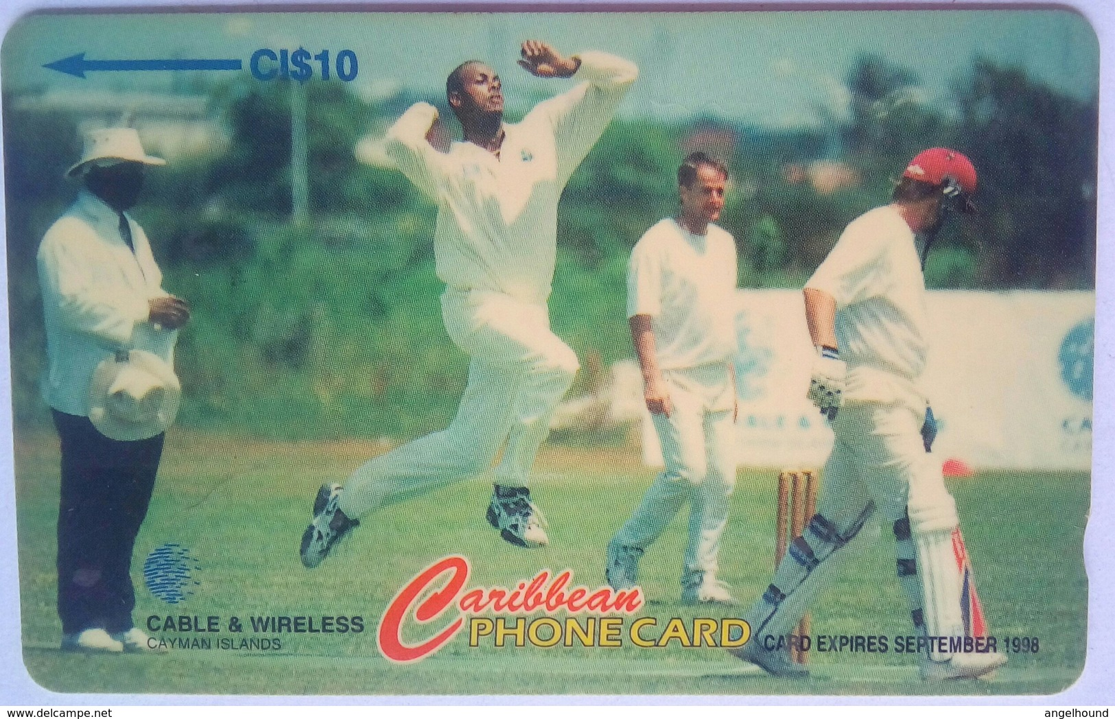 224CCIC Cricket CI$10 - Iles Cayman