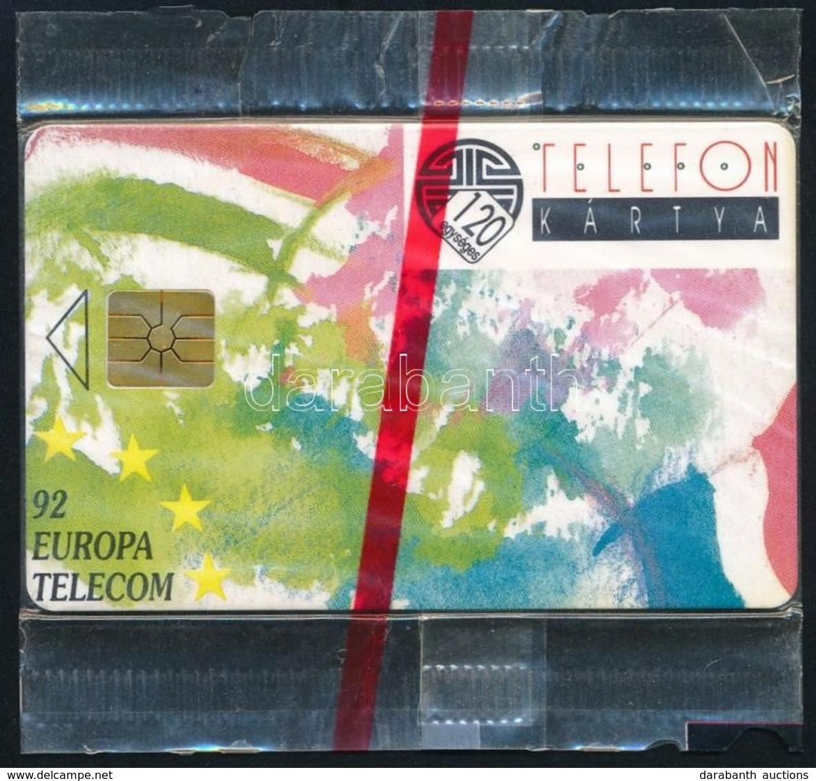 1992 Használatlan Europa Telecom Telefonkártya, Bontatlan Csomagolásban - Phonecards