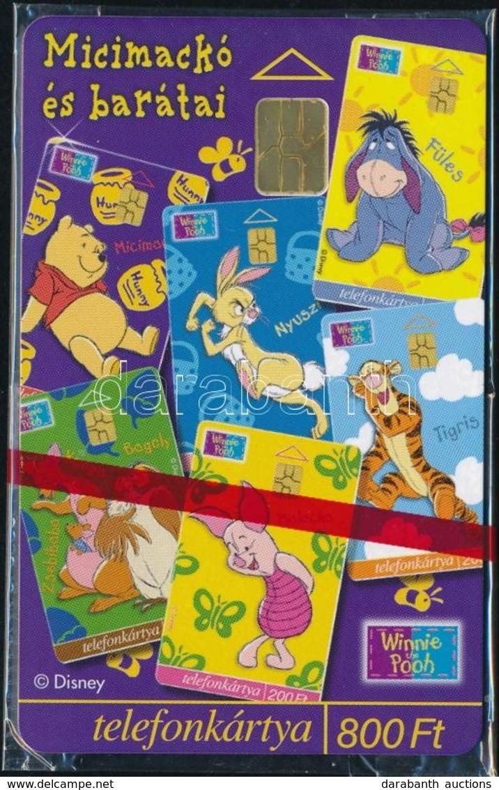1999 Micimackó és Barátai Telefonkártya Használatlan, Bontatlan Csomagolásban. Sorszámozott. - Phonecards