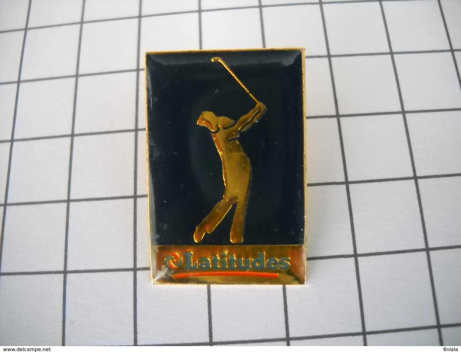 950     PINS  Pin's  GOLF LATITUDES - Golf