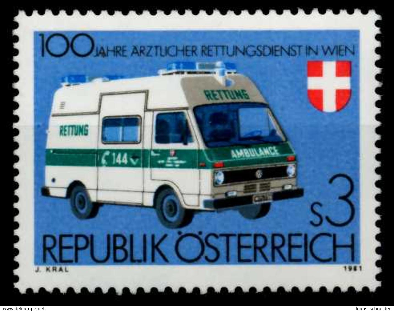 ÖSTERREICH 1981 Nr 1694 Postfrisch S59E98A - 1981-90 Nuevos & Fijasellos