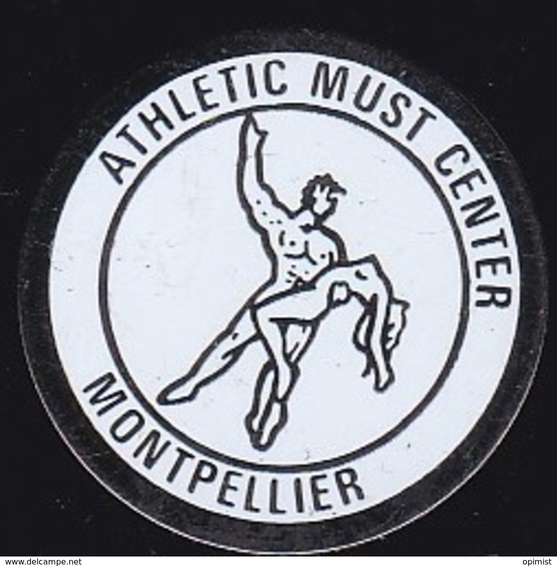 65360-Pin's.athletic Must Center Montpellier.Culturisme.Musculation.body-building. - Pesistica