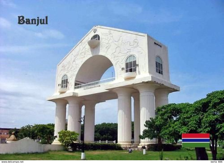 Gambia Banjul Arch 22 Monument New Postcard - Gambia