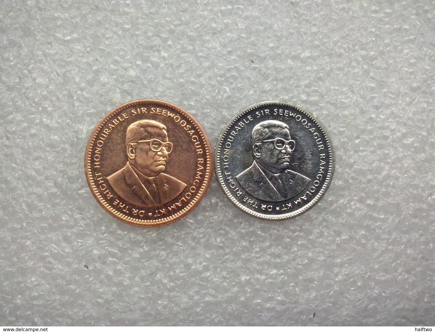Mauritius  5 And 20 Cents - Maurice