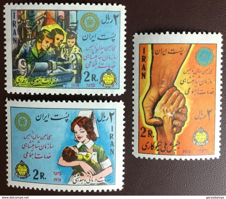 Iran 1976 Social Services MNH - Iran