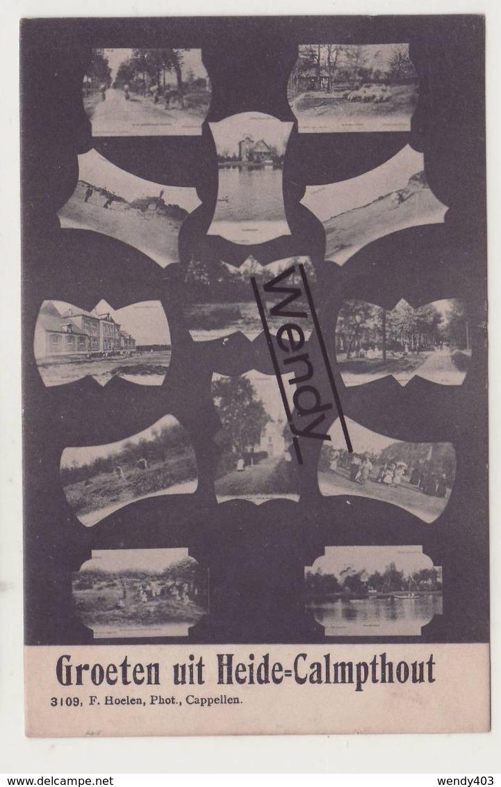 Kalmthout (groeten Uit) Uitg. Hoelen N° 3109 - Kalmthout