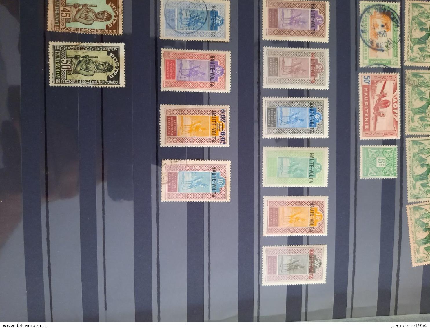 Colonie Française Oblitere Et Neuf Et Avec Trace De Charniere - Stamps