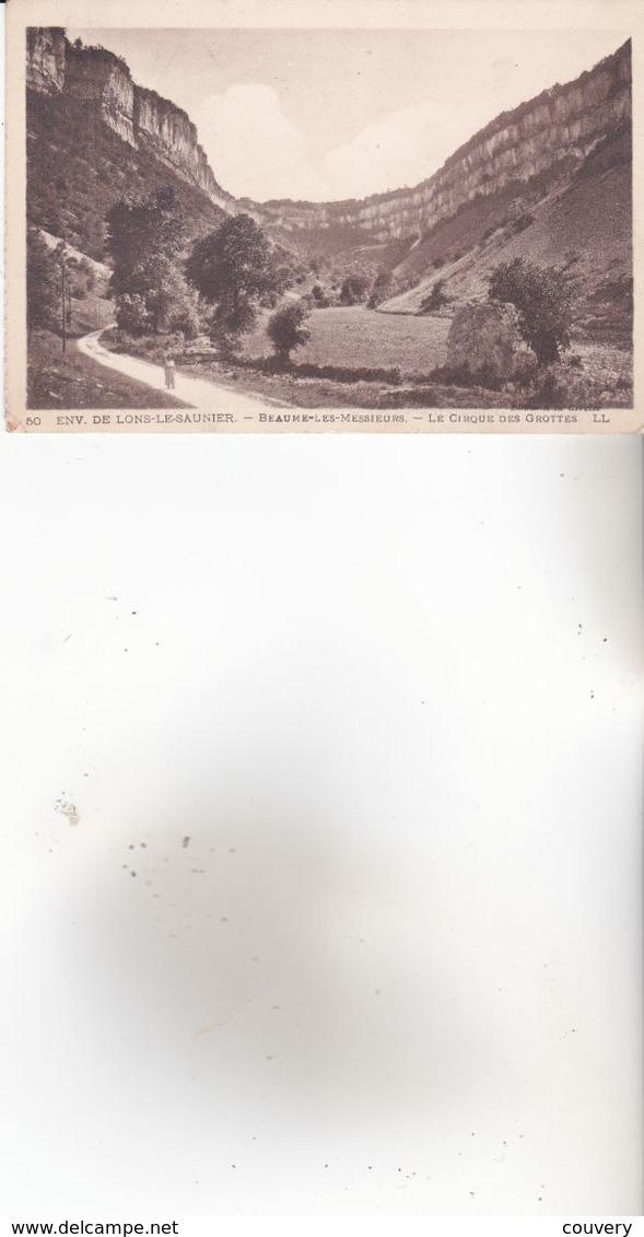 CPA 39 BAUME-LES-MESSIEURS ,le Cirque Des Grottes. (1923) - Baume-les-Messieurs