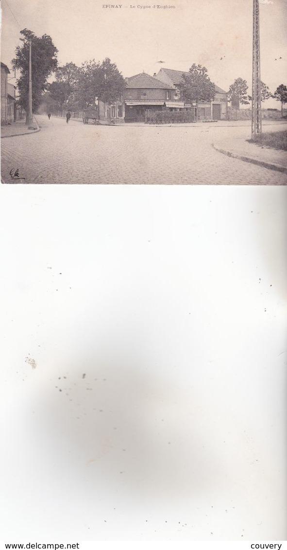 CPA 93 EPINAY ,le Cygne D'Enghien.(1904) - Autres Communes