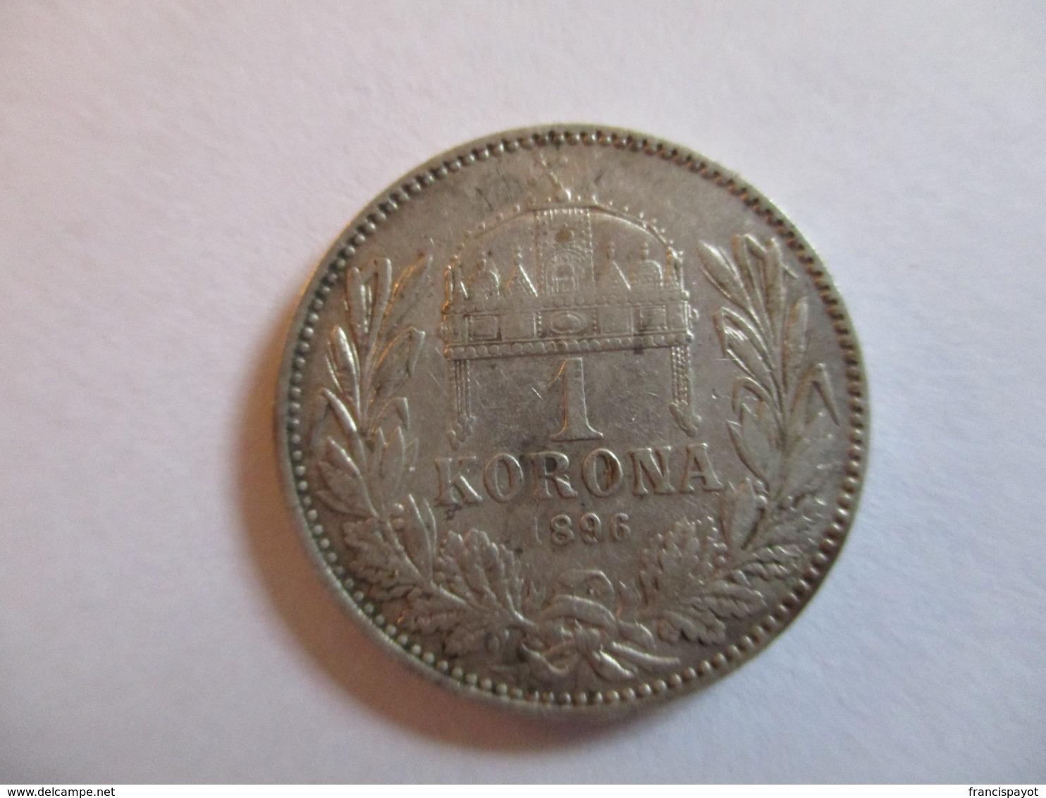 Autriche-Hongrie 1 Korona 1896 - Oesterreich