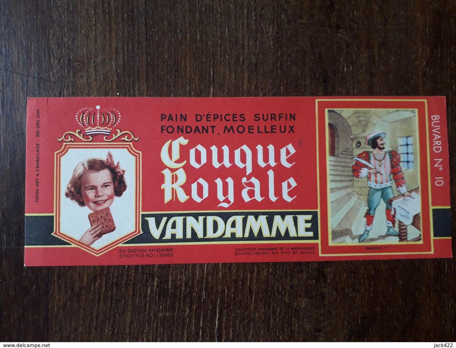 L18/181 Buvard. Vandamme. Pain D'épices - Gingerbread