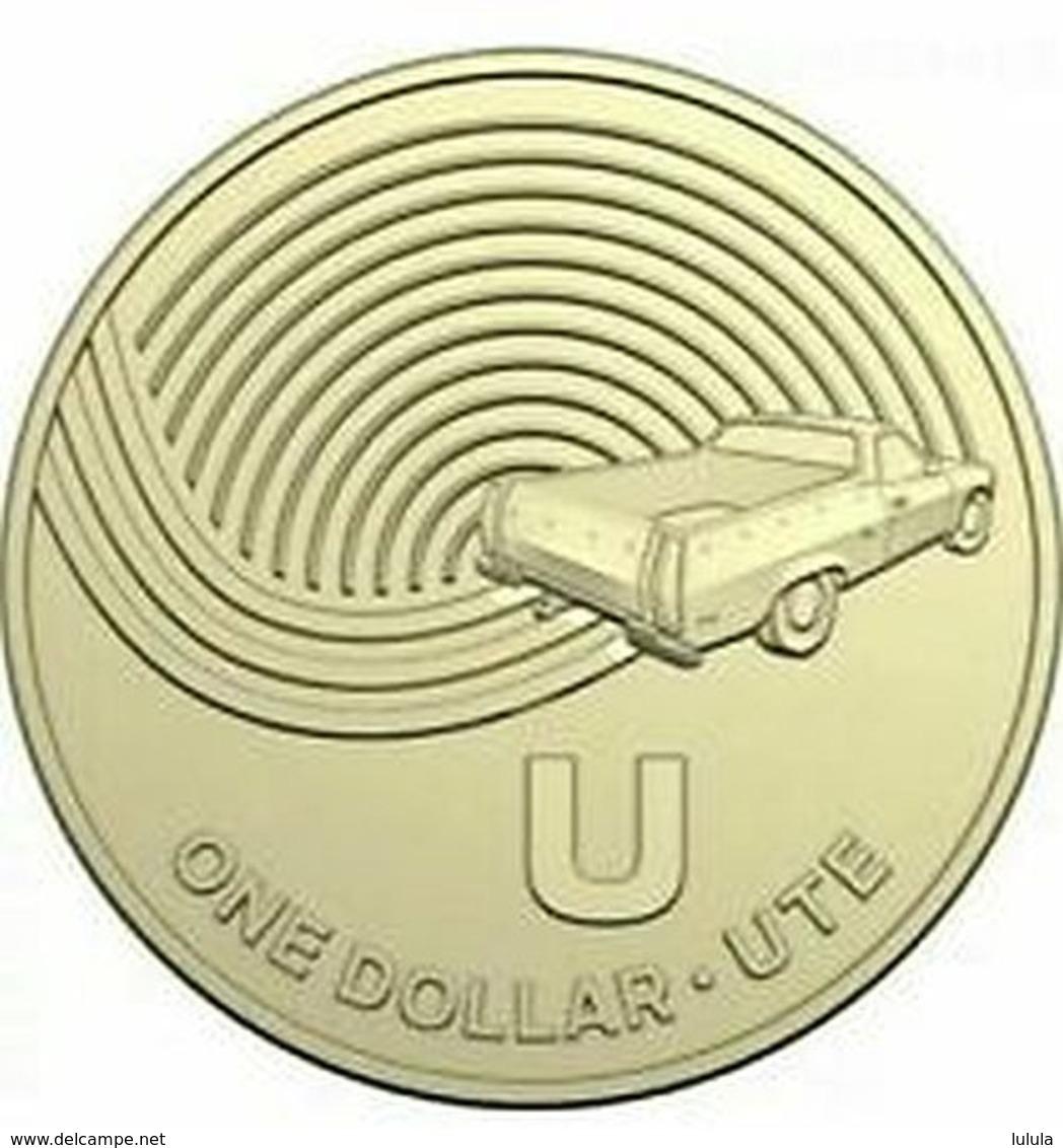 2019 U Ute $1 Coin Great Aussie Coin Hunt UNC - Dollar