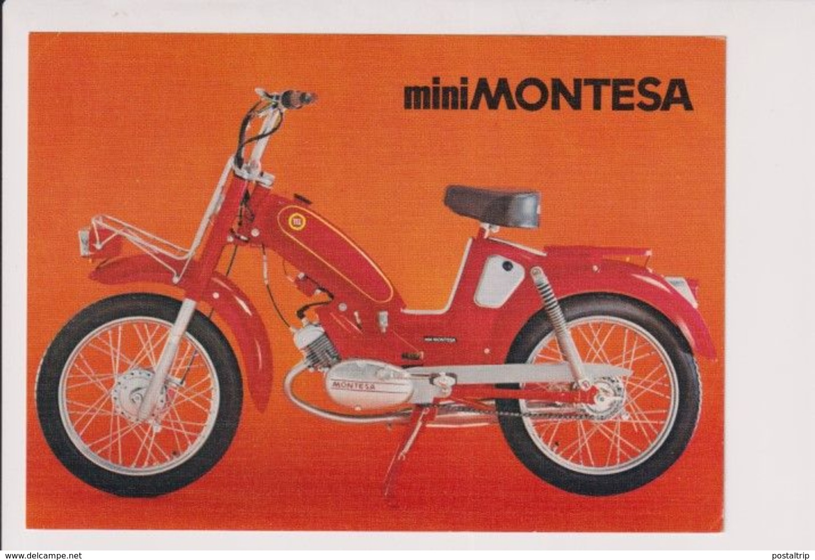 MINI MONTESA +-11x15,5cm Moto MOTOCROSS MOTORCYCLE Douglas J Jackson Archive Of Motorcycles - Other