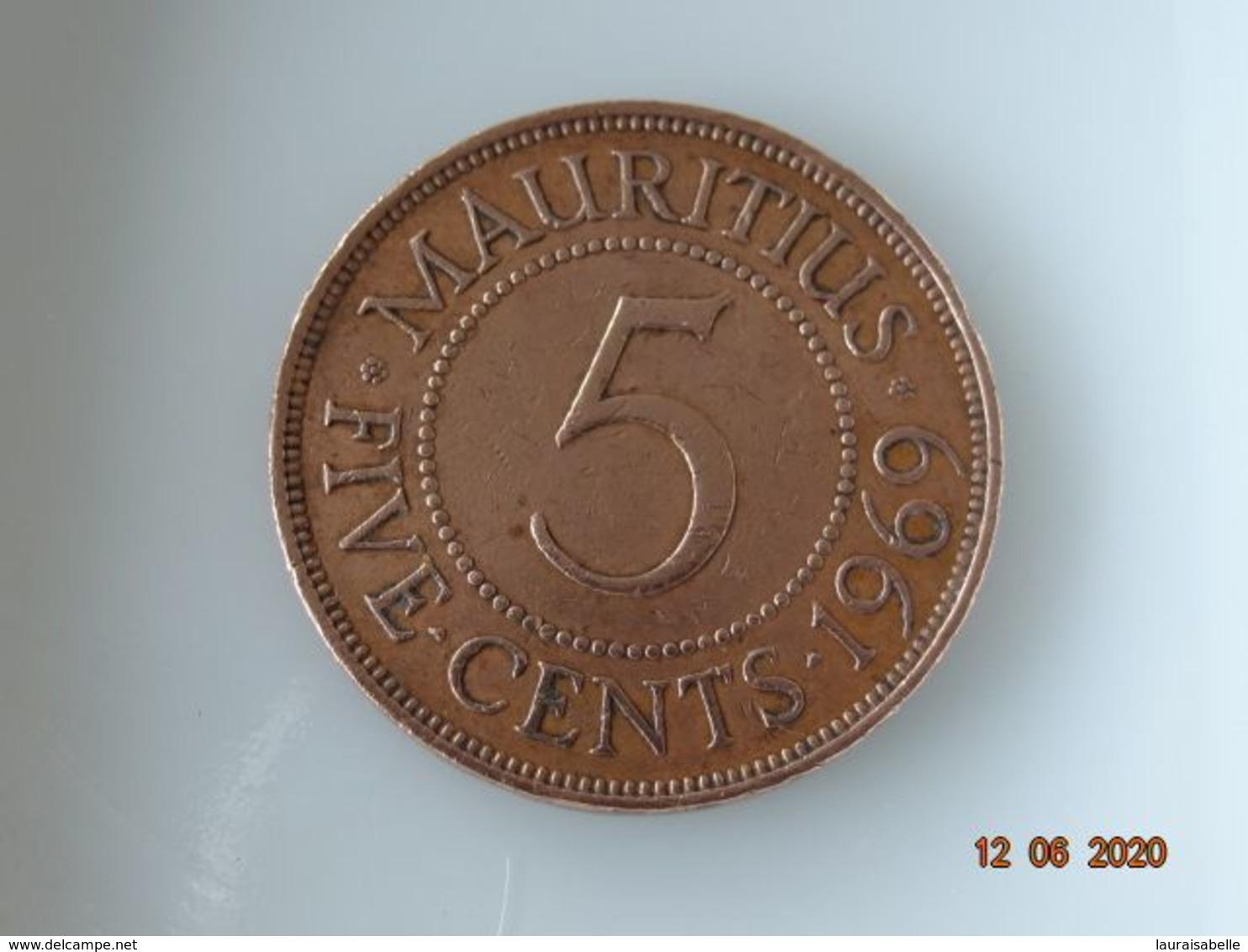 5 CTS MAURICE 1969 - Maurice