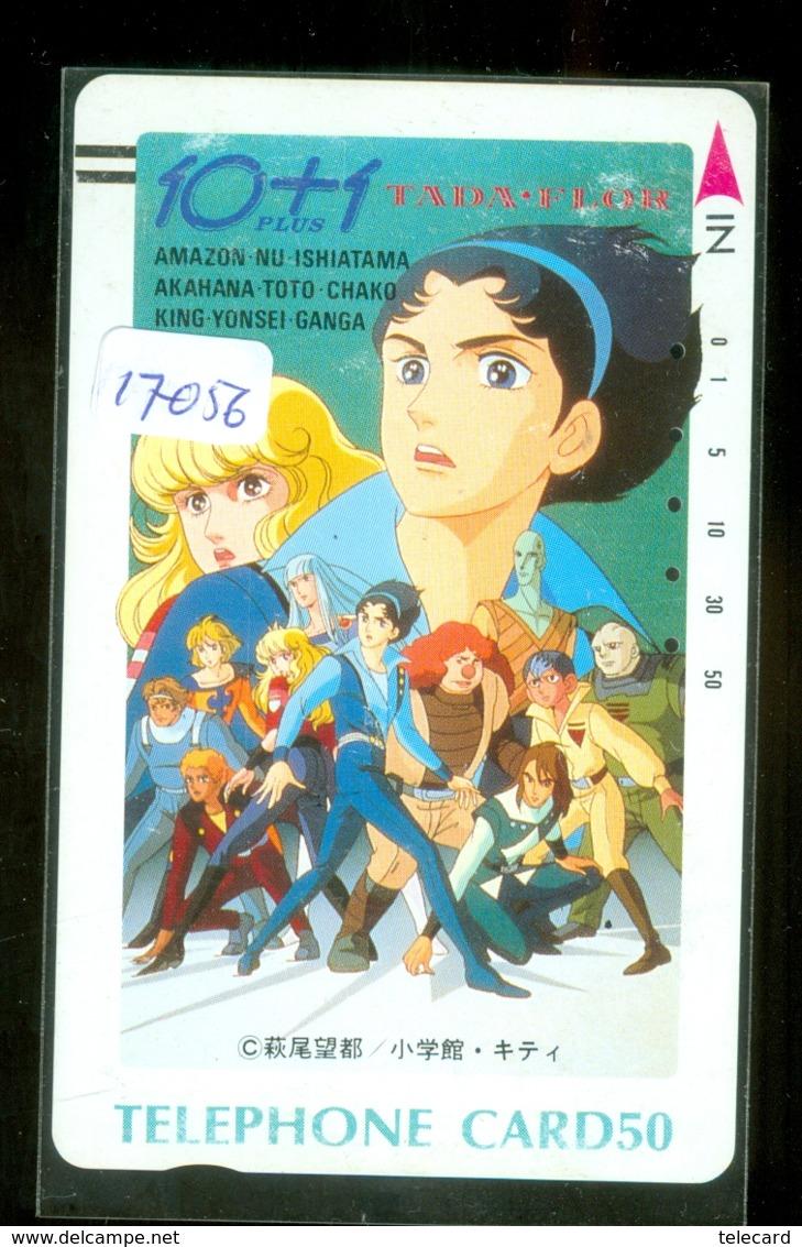 Télécarte Japon * 110-14712 * Tada Flor *  ANIME Japan (17056) FRONT BAR * Phonecard Balken Telefonkarte - BD