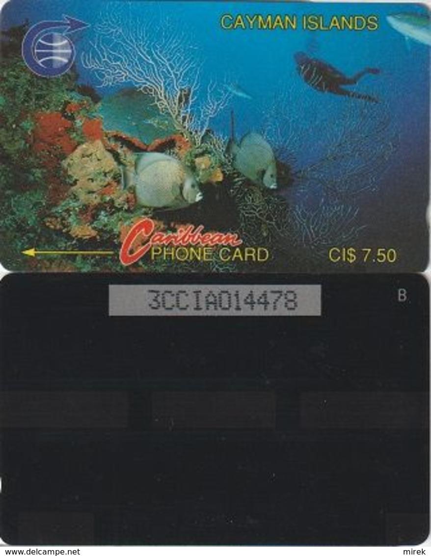123/ Cayman Islands; 3A - 3CCIA. , Sea Life - Iles Cayman