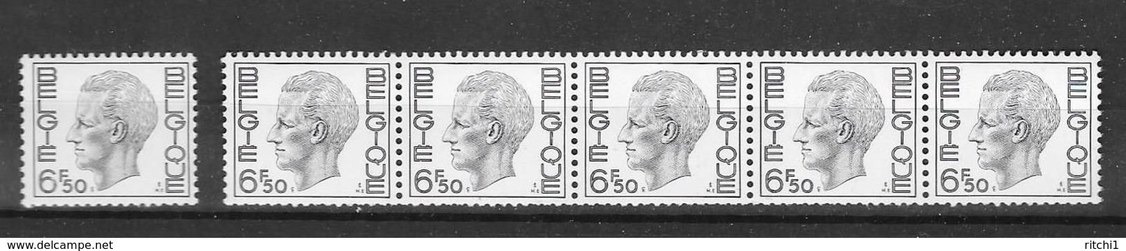 R 57/58 * * Polyv.    Postfris Zonder Scharnier - Coil Stamps