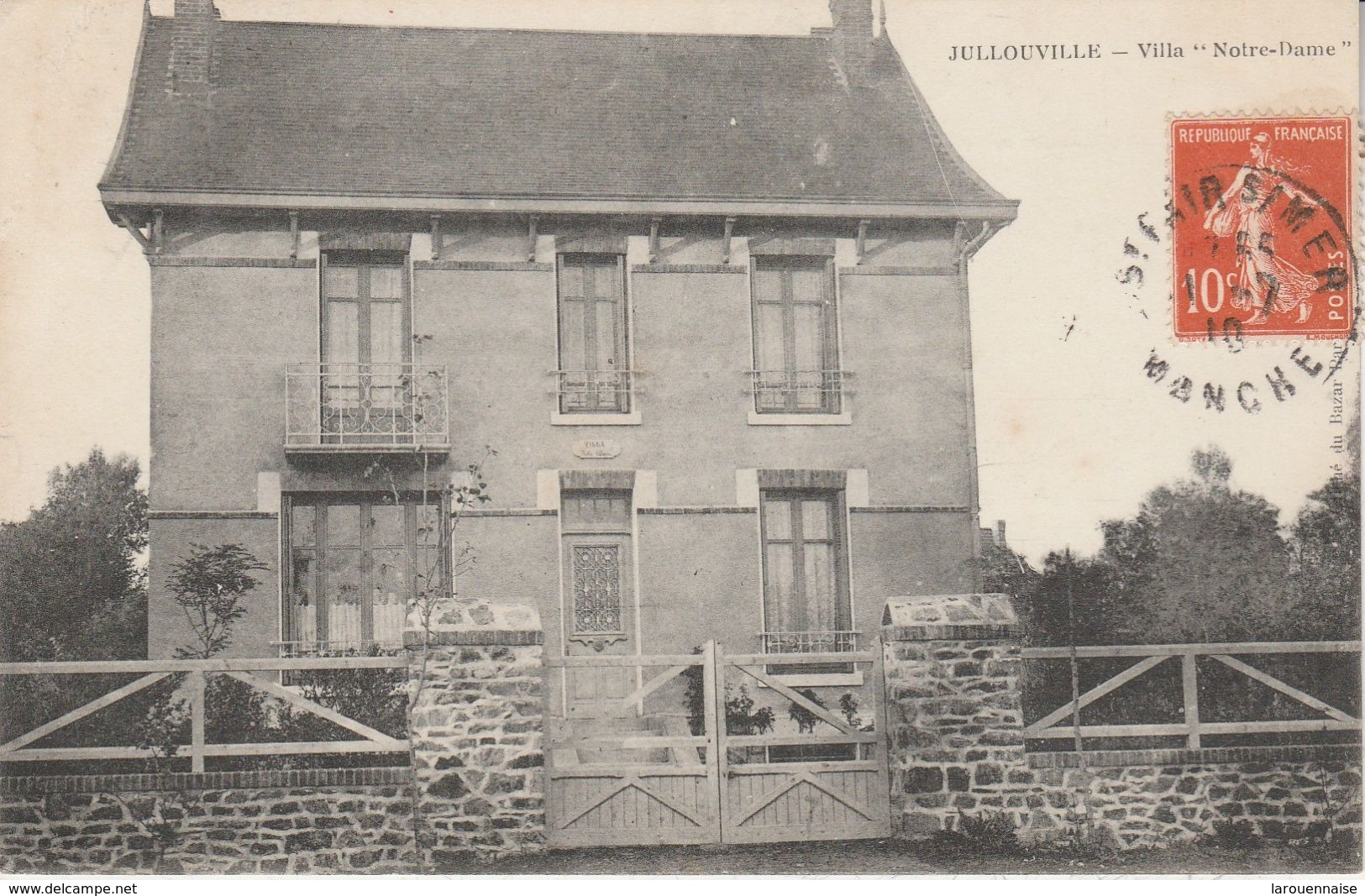 """50 - JULLOUVILLE - Villa """"Notre Dame"""" - Autres Communes"""