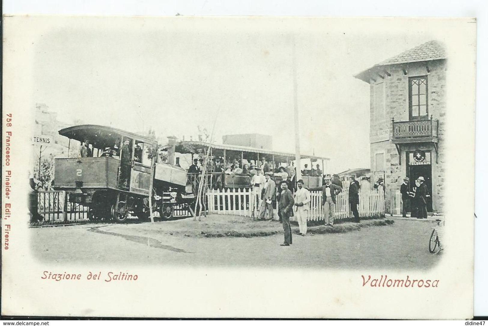 ITALIE - VALLOMBROSA - Stazione Del Saltina - Firenze (Florence)