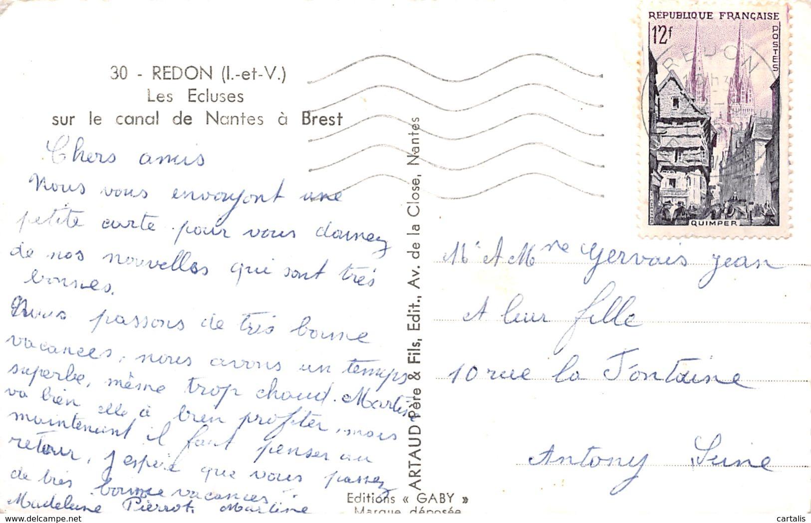 35-REDON-N°3891-E/0145 - Redon