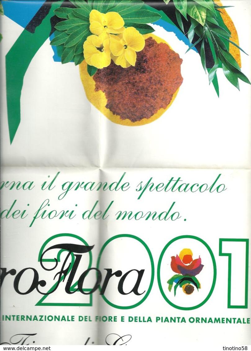 EURO FLORA  2001  ESPOSIZIONE  MONDIALE  FIORI  E  PIANTE - B. Bloemplanten & Bloemen