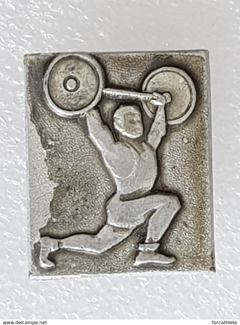 Broche URSS - Brooch USSR - Haltérophilie - Weightlifting - Gewichtheben - Pesistica