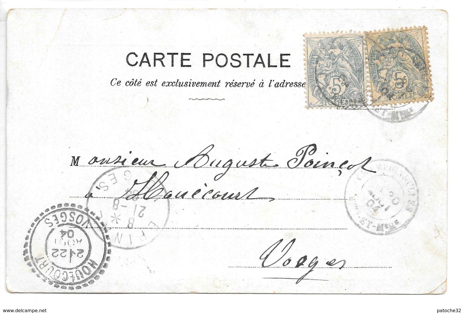 Cpa...au Palais De La Mode ... C'est Pour L'enfant , 4 Rue Saint-jean...nancy... 1904... - Nancy