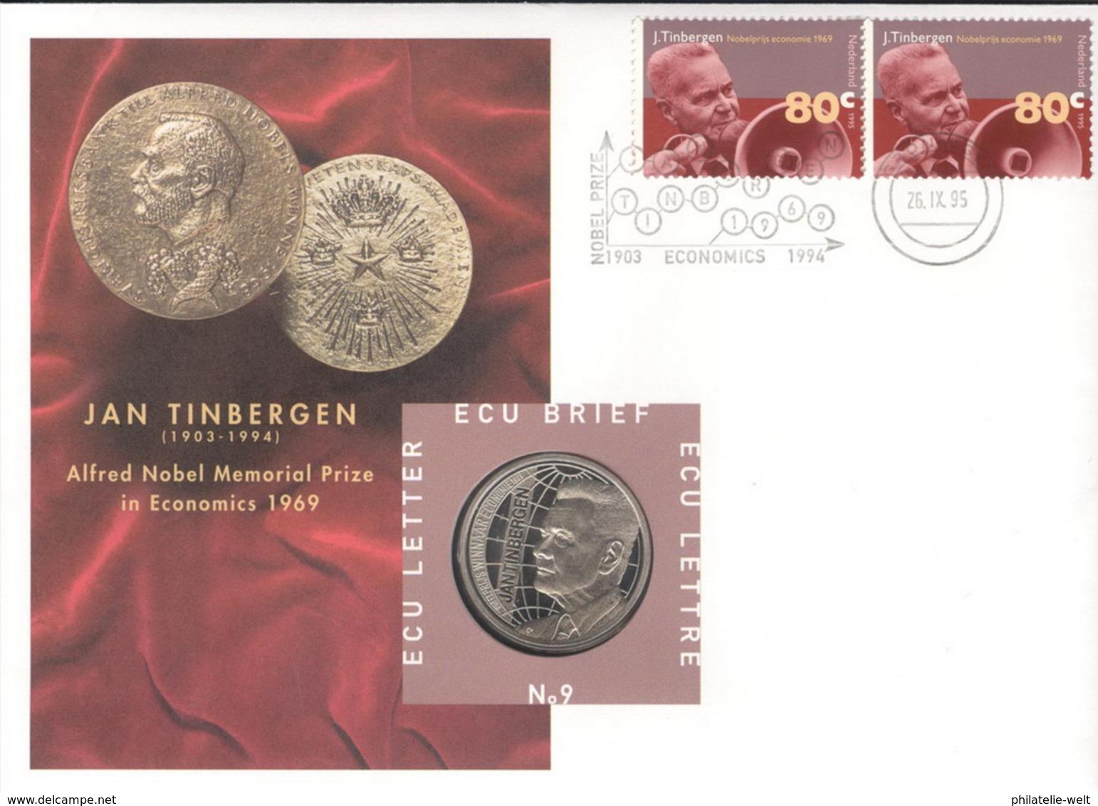 Niederlande Numisbrief ECU Nr. 9 - Niederlande