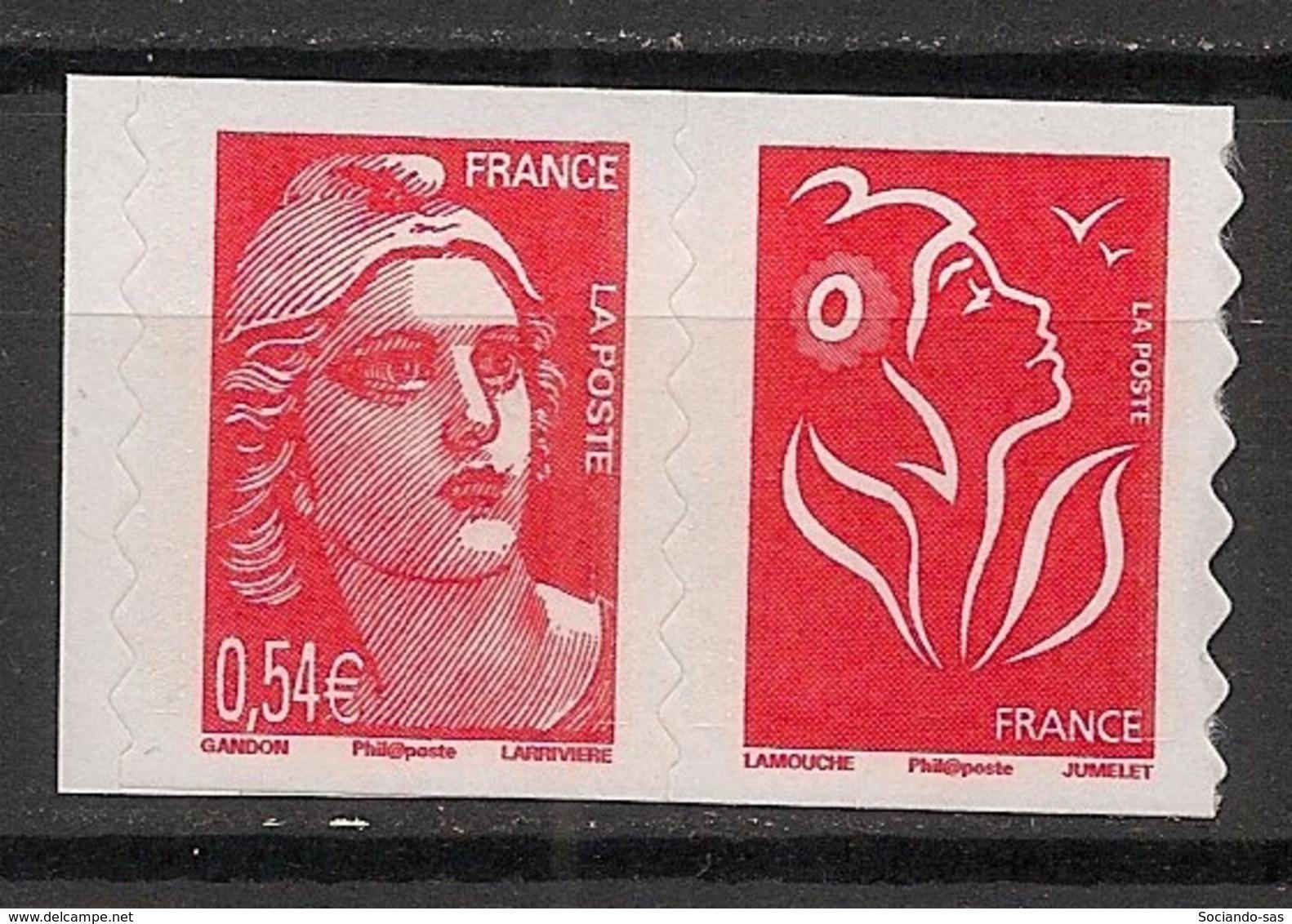France - 2006 - N°Yv. P96 - Marianne De Gandon - Paire De Carnet - Neuf Luxe ** / MNH / Postfrisch - Luchtpost
