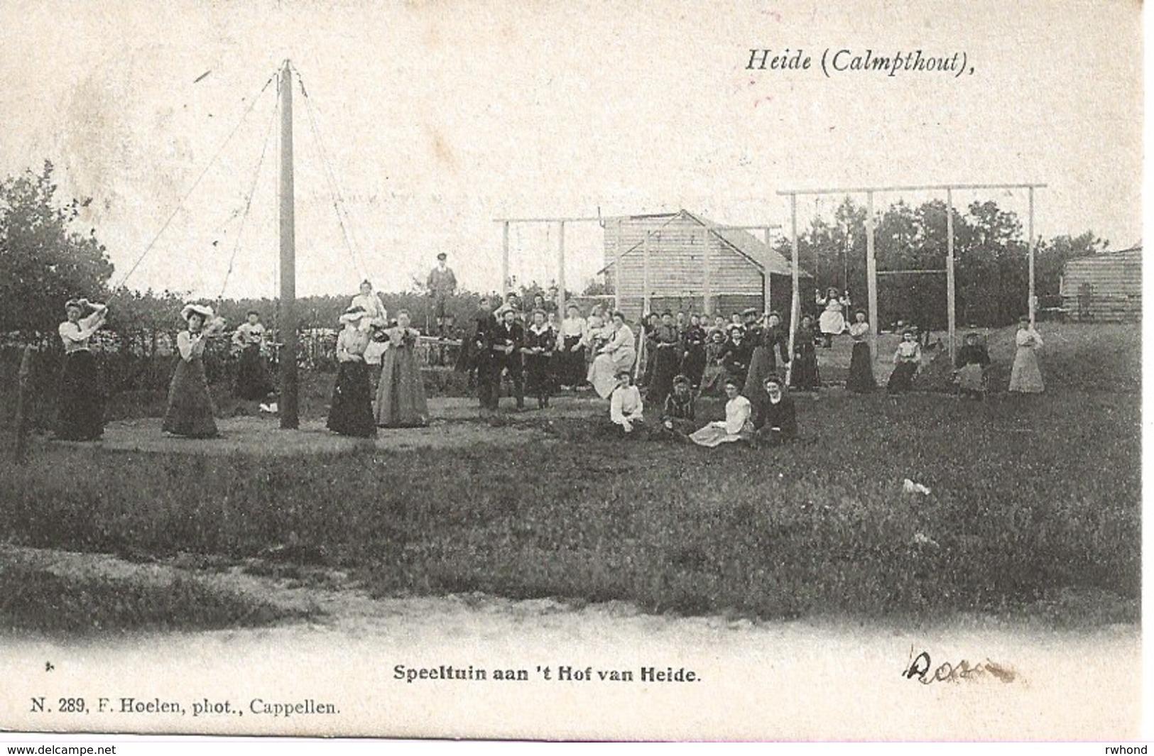17 Calmpthout Kalmthout Heide Hotel 't Hof Vann Heide Speeltuin  Hoelen 289. - Kalmthout