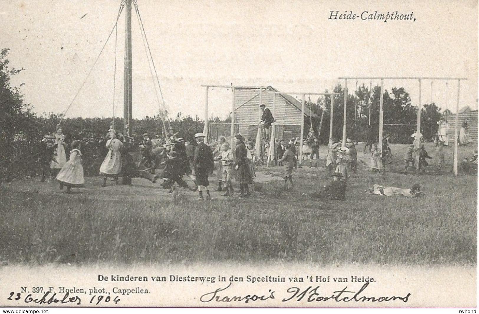 19 Calmpthout Kalmthout Heide Hotel 't Hof Van Heide De Speeltuin  Hoelen 397. - Kalmthout