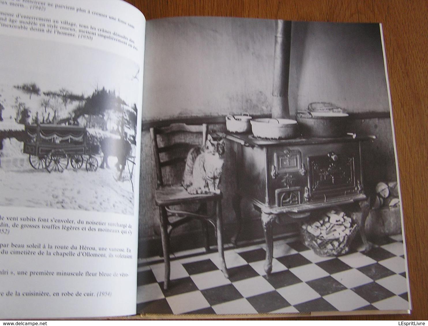 ARDENNE BUISSONNIERE Journal Et Photos 1937 1971 Dauchot Orban Régionalisme Photographies Ollomont Nadrin Forêt - Bélgica