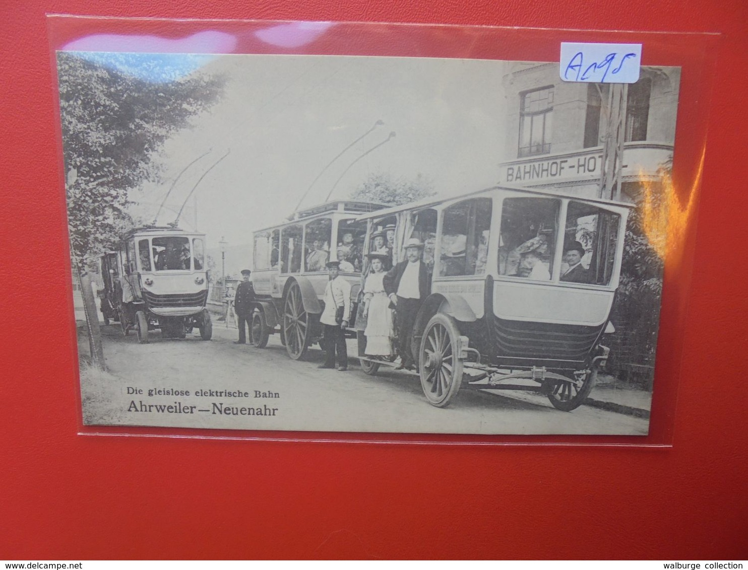 Ahrweiler-Neuenahr Elektrische Bahn Tram 1913 Bahnof-Hôtel (A195) - Bad Neuenahr-Ahrweiler