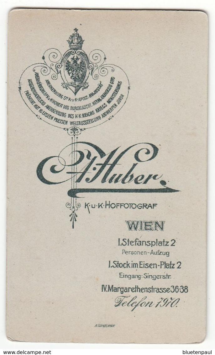 0464 CDV Photo : A. Huber, Wien - Portrait, Feiner Junger Mann, Herr Homme Man Gentleman - Photographs