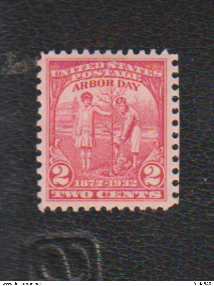 USA. (Y&T) 1932 - N°312. *60è Anniversaire Du Vote De La Loi Sur Le Reboisement*   * 2c *  Obl - United States