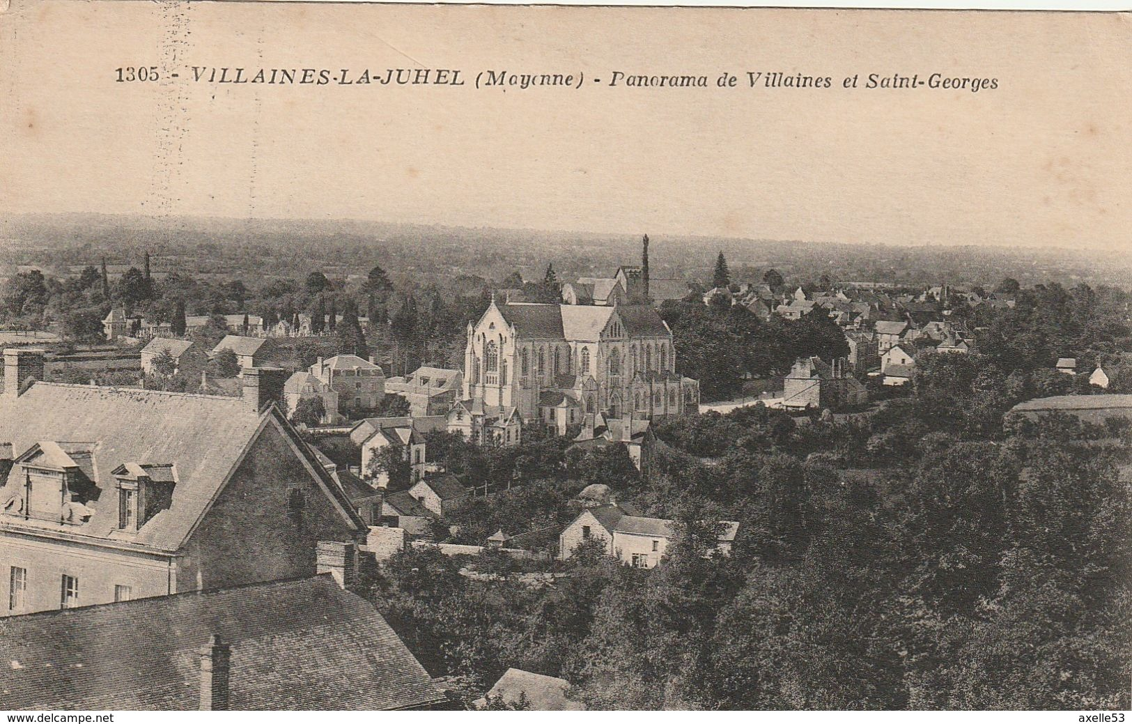 Villaines La Juhel 53 (852) - Villaines La Juhel