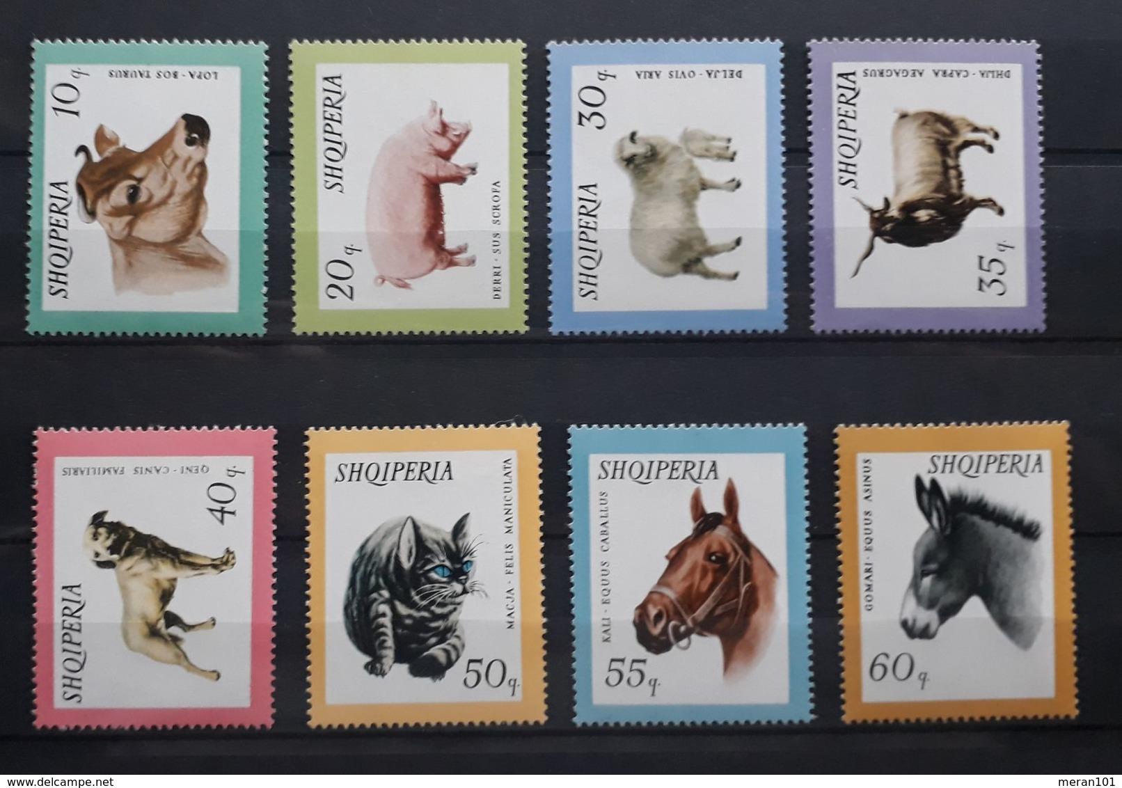 Albanien 1966, Mi 1028-35 MNH Postfrisch - Albanie