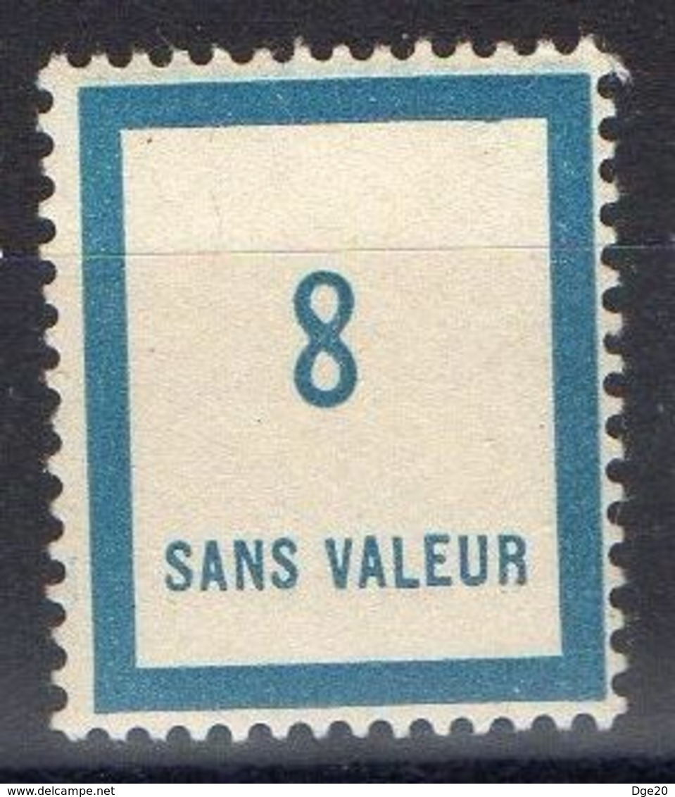 FRANCE ( FICTIF ) : Y&T  N°  F83 TIMBRE  NEUF  SANS  TRACE  DE  CHARNIERE , A  VOIR . B 20 - Ficticios
