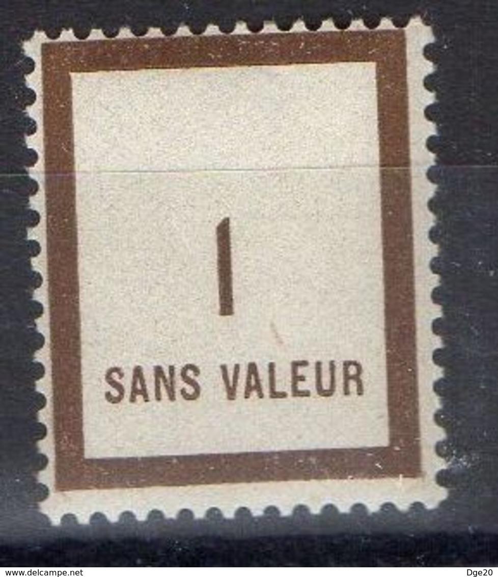 FRANCE ( FICTIF ) : Y&T  N°  F79 TIMBRE  NEUF  SANS  TRACE  DE  CHARNIERE , A  VOIR . B 20 - Phantom