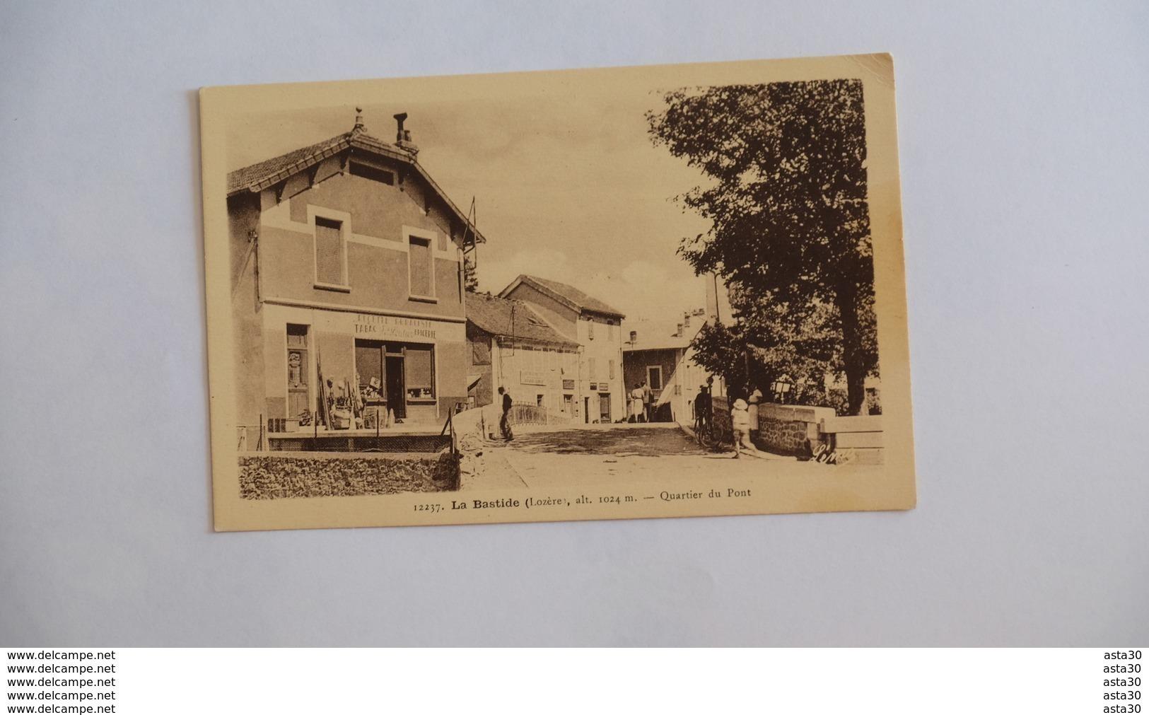 LA BASTIDE _ QUARTIER DU PONT _ TABAC _ EPICERIE …… 120 - Autres Communes
