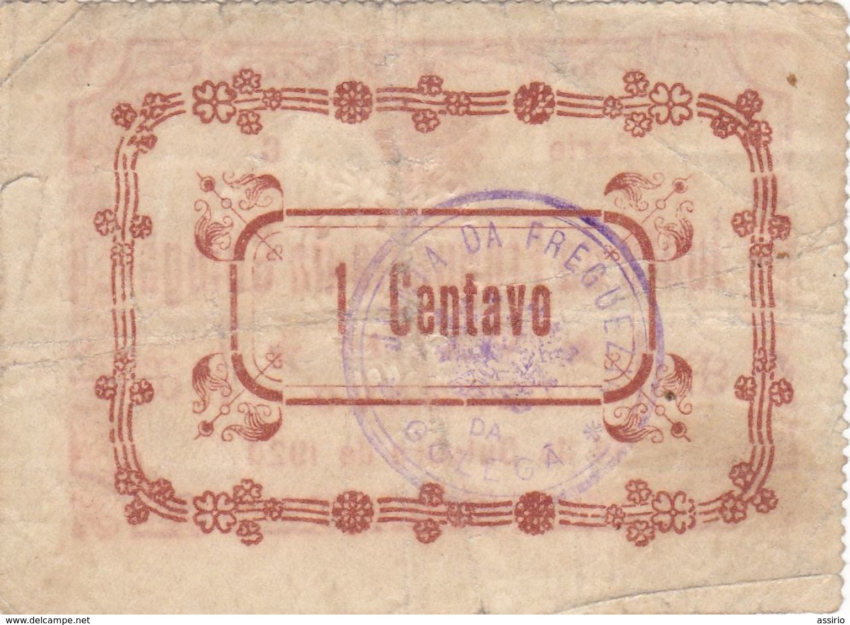 Portugal  -Cédula De Junta De Freguesia  Da Golegã  Nº 1046        (rara) - Portugal