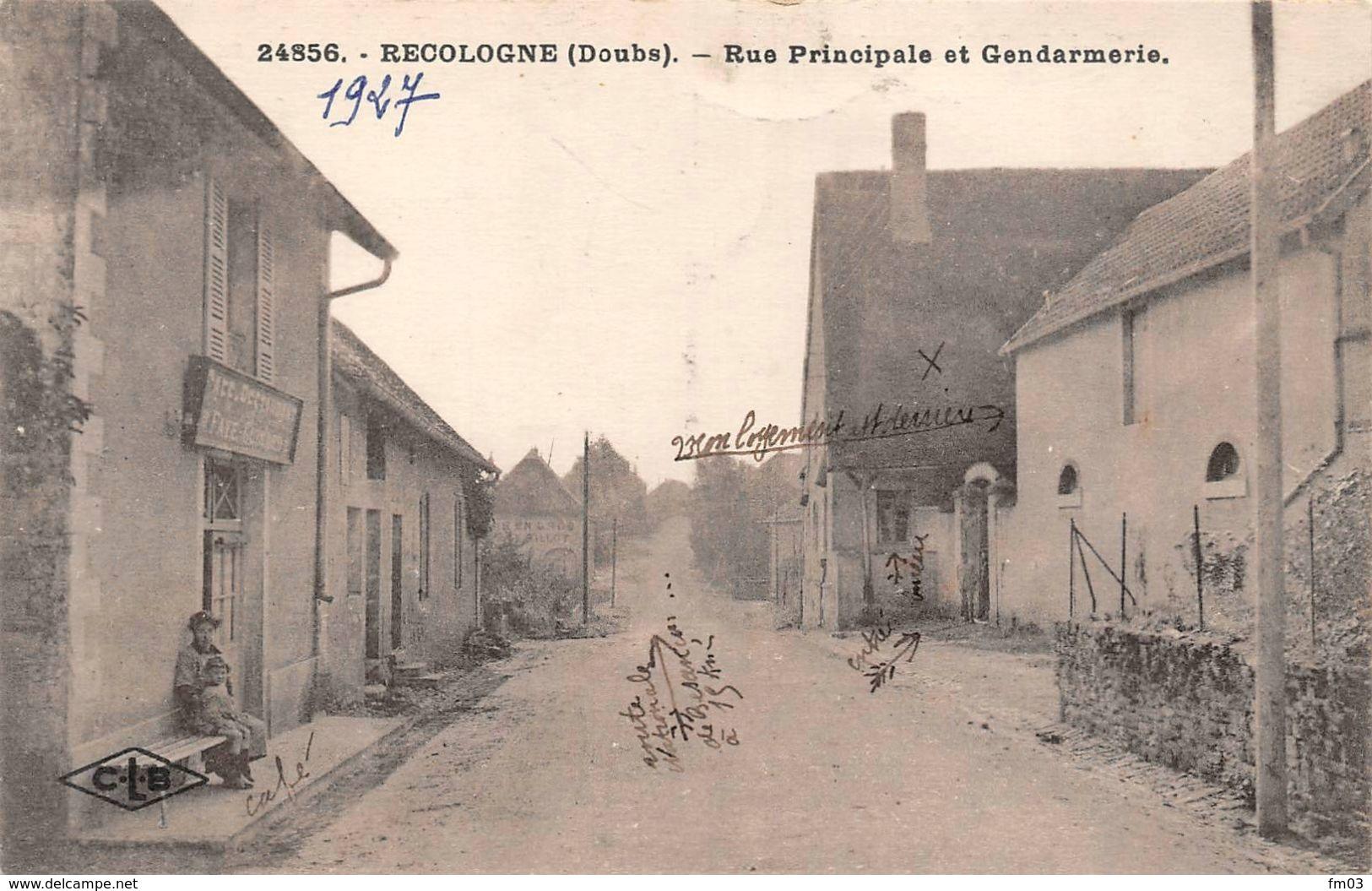 Recologne Canton Audeux Gendarmerie - Sonstige Gemeinden