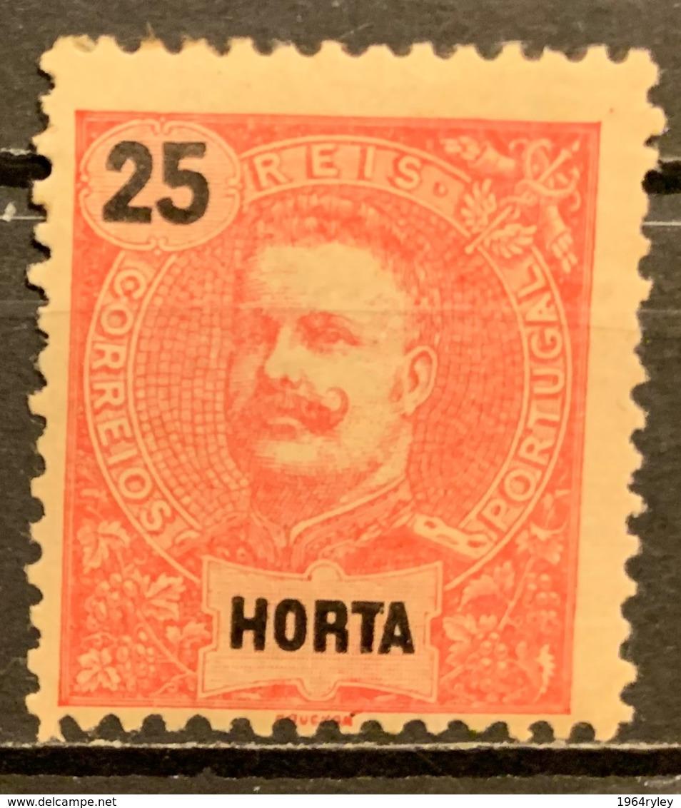 HORTA -  MH*  - 1899 - # 20 - Horta