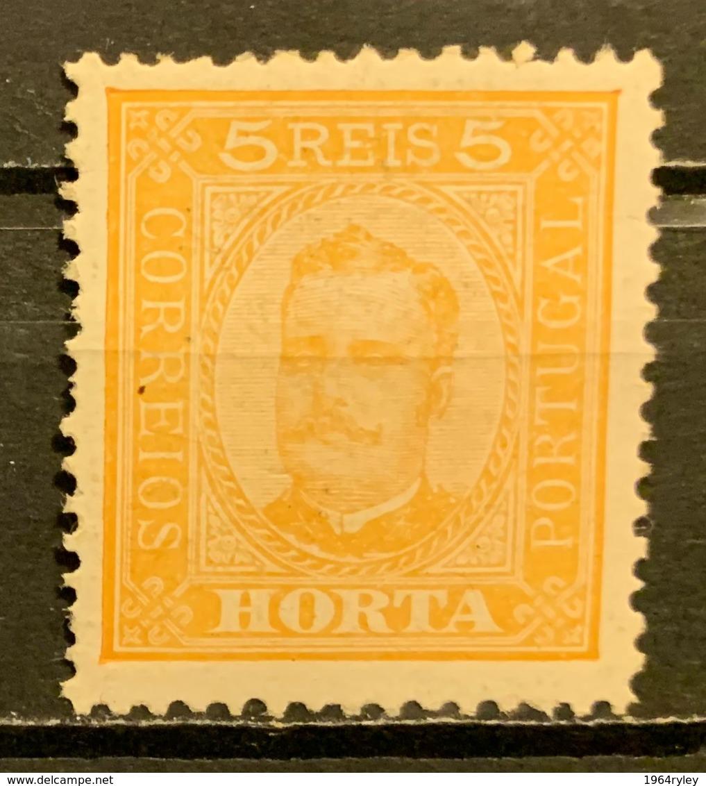 HORTA -  MH*  - 1893 - # 1 - Horta