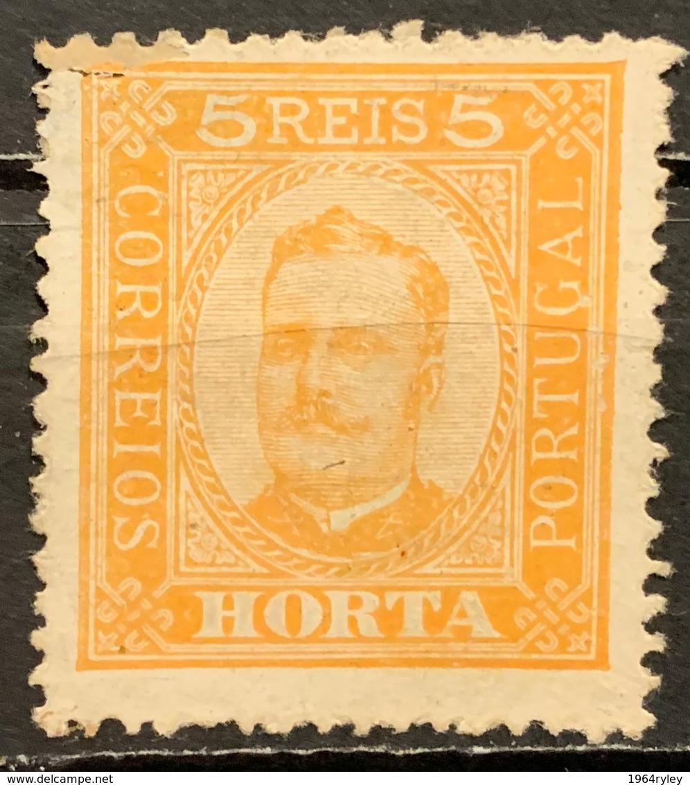 HORTA -  (0)  - 1893 - # 1 - Horta