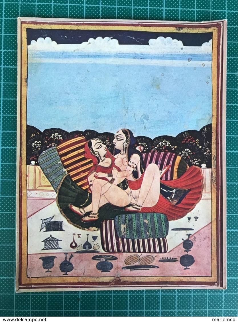 """ASANA EROTIQUE ECOLE DE JAÎPUR REPRO 18 ÈME Siècle Carte De La Revue """"des Femmes"""" - Publicité"""